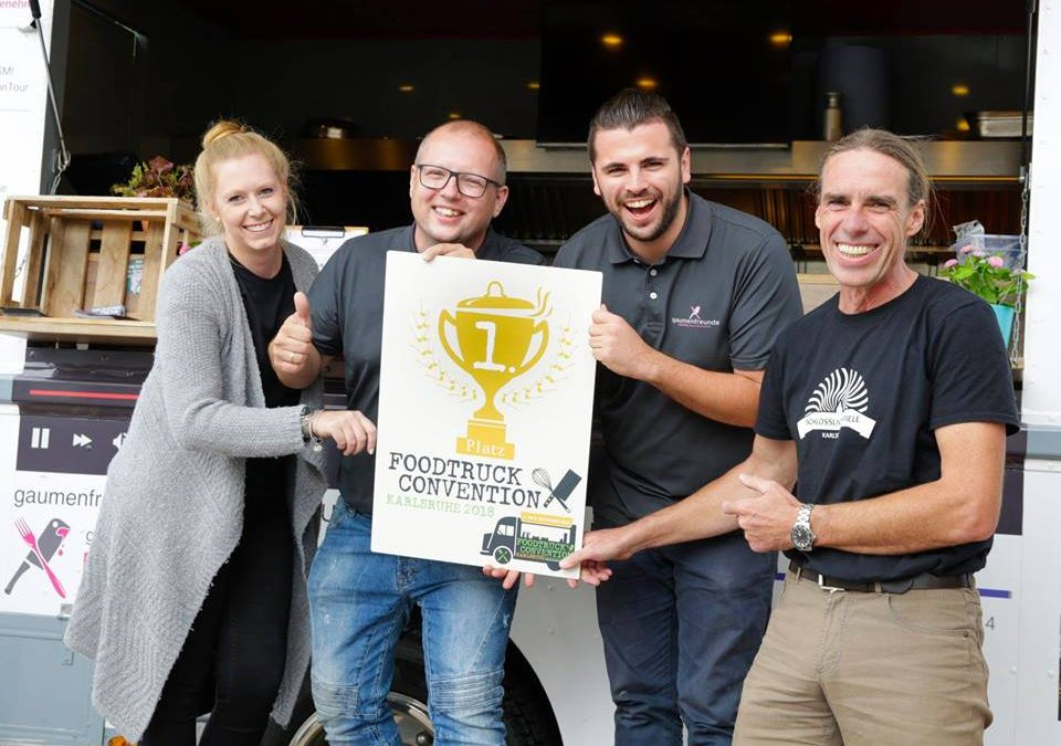 1. Platz Foodtruck Convention Karlsruhe